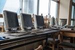 Ενα εγκαταλελειμμένο εργαστήριο έχει καλυφθεί με περιττώματα δίπλα στο Πυρηνικό Εργοστάσιο
